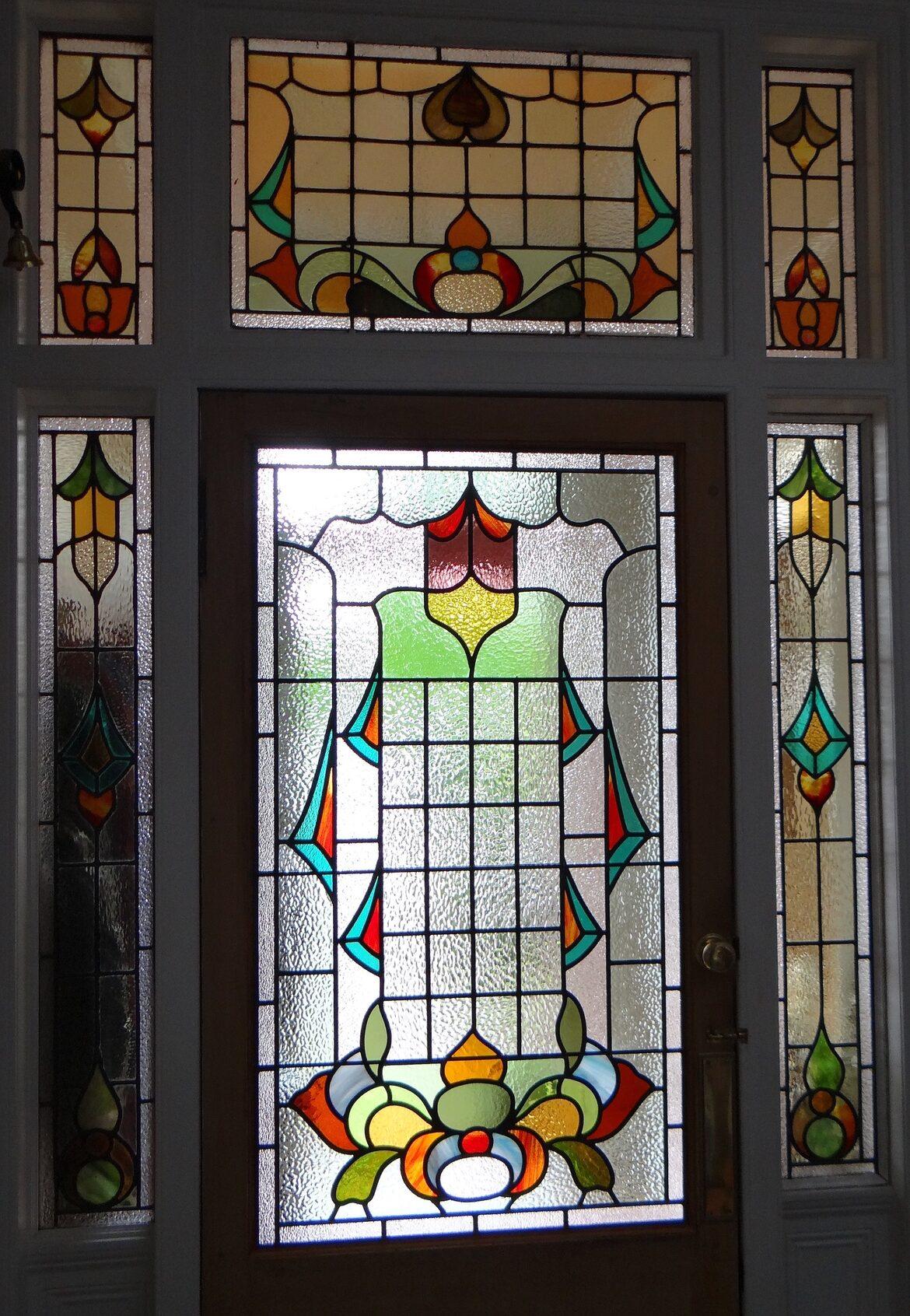 Art Painting Glass Windows And Doors